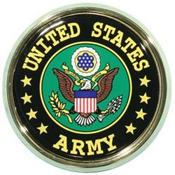 US Army Crest Auto Emblem