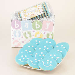 Start Off Sweet Baby Boy Gift Basket