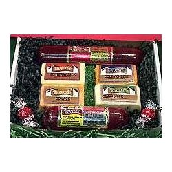 Wisconsin Bavaria Cheese and Sausage Gift Box