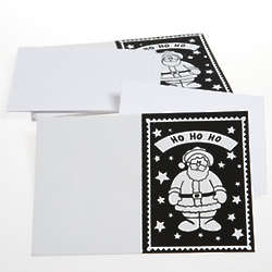 Color Your Own Holiday Greeting Cards