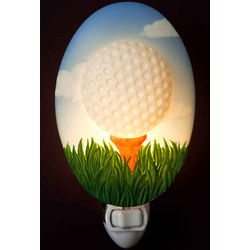 Teed-Up Golf Ball Night Light