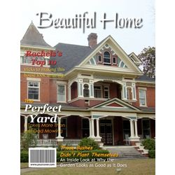 Beautiful Home Personalized Magazine Cover