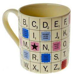 Scrabble Tile Mug