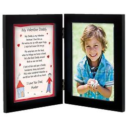 Personalized Daddy Valentine's Day Print and Frame