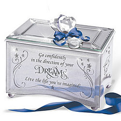 Reflections of a Dream Personalized Graduation Music Box