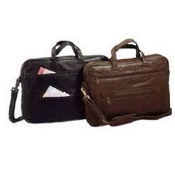 Top Grain Leather Slim Briefcase