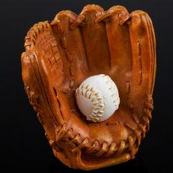 Baseball Glove Aquarium Ornament