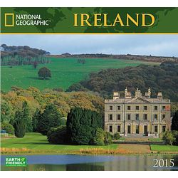 2015 National Geographic Ireland Wall Calendar