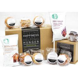 Homemade Muffins and Starbucks Coffee Gift Box