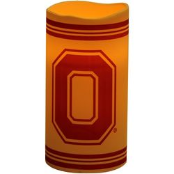 Ohio State Buckeyes Single Big Logo Candle