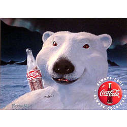 Coca-Cola Polar Bear Cel