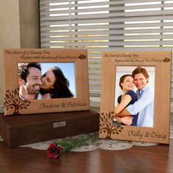 Personalized Family Tree Wooden Picture Frame