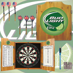 Bud Light Lime Dart Cabinet