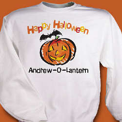 Jack-O-Lantern Halloween Sweatshirt