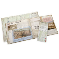 Civil War Battlefield Map Book