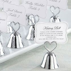 Kissing Bells Wedding Placecard Holders