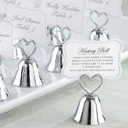 Kissing Bells Wedding Placecard Holders