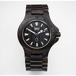 Black Natural Wooden Watch