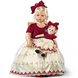 Faith and Hope Realistic Child Doll