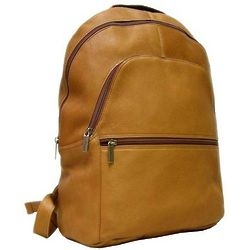 Vaquetta Leather Rugged Computer Sleeve Backpack