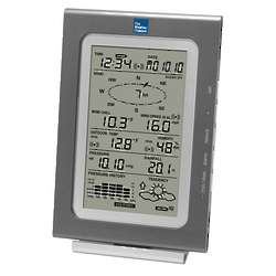 Wireless Professional Weather Center with Rain Gauge