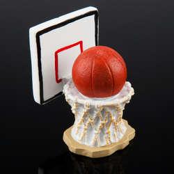 Basketball and Hoop Aquarium Ornament