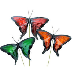 Copper Butterfly Sculpture Garden Stake