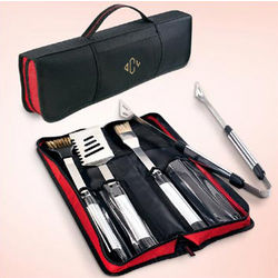Personalized Barbeque Tools Kit