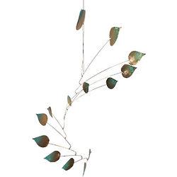 Copper 14 Aspen Leaf Mobile