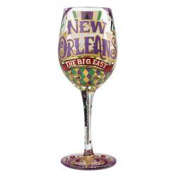 The Big Easy Wine Glass