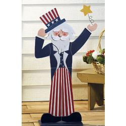 Uncle Sam Standing Decoration