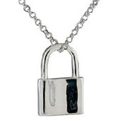 Engravable 1837 Lock Pendant