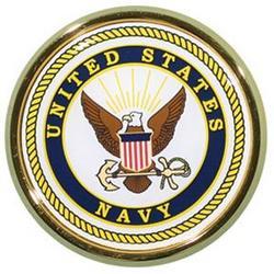 US Navy Crest Auto Emblem