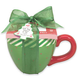 Green Latte Mug Gift Set