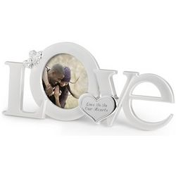 Figural Love Picture Frame