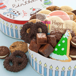 Happy Birthday Treats Assortment Tin