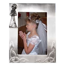 Girl's Holy Communion Frame