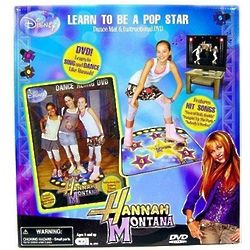 Hannah Montana Instructional DVD and Dance Mat