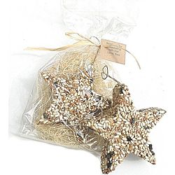 Personalized Bird Seed Star Handmade Party Favor