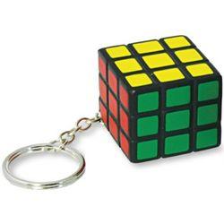 Rubik's Cube Stress Ball Key Chain