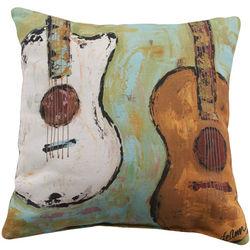 Cool Guitar Pillow