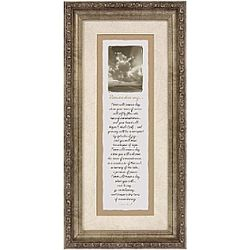 """Remembering"" Framed Sympathy Poem"