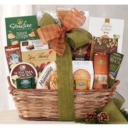 Sympathy Gift Basket of Snacks