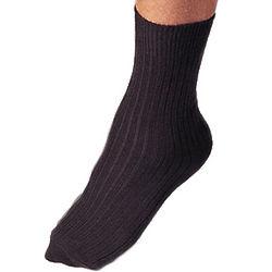 Non-Elastic Cuff Socks