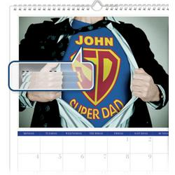 Best Dad Personalized Calendar