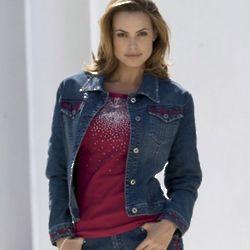 Misses Denim Diva Jacket