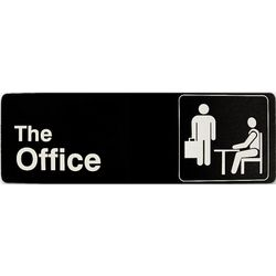 The Office Plastic Wall Sign