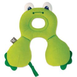 Baby's Green Frog Travel Pillow
