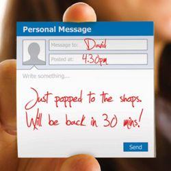 Social Media Sticky Notes