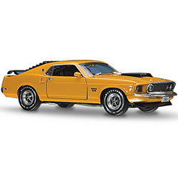 The Boss Is Back Ford Mustang Diecast Car